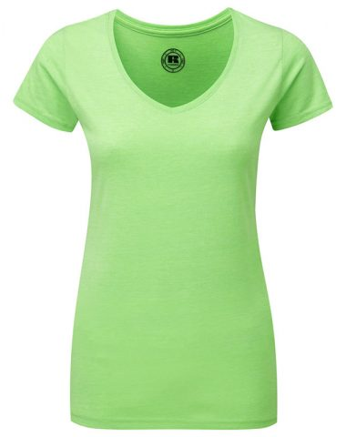 Ladies' V-Neck HD T