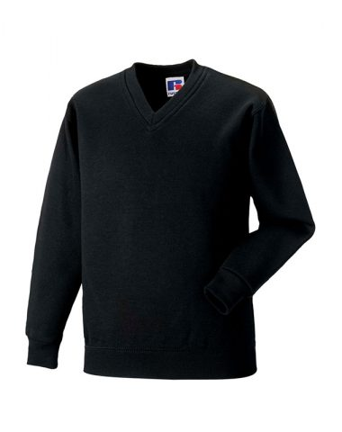 Adults' V-Neck Sweatshirt