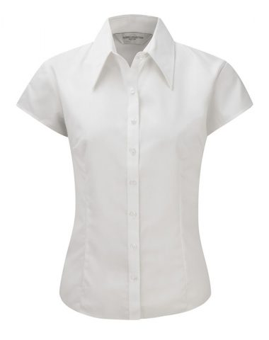Ladies' Cap Sleeve Tencel® Fitted Shirt