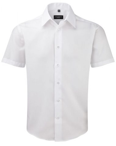 Men's Short Sleeve Tailored Ultimate Non-Iron Shirt